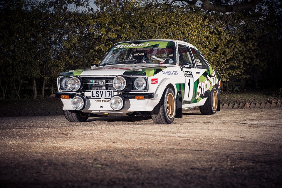 McRae Family Ford Escort up for Auction