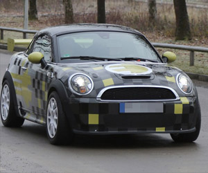 MINI E Coupe Electric Car Spotted on the Streets
