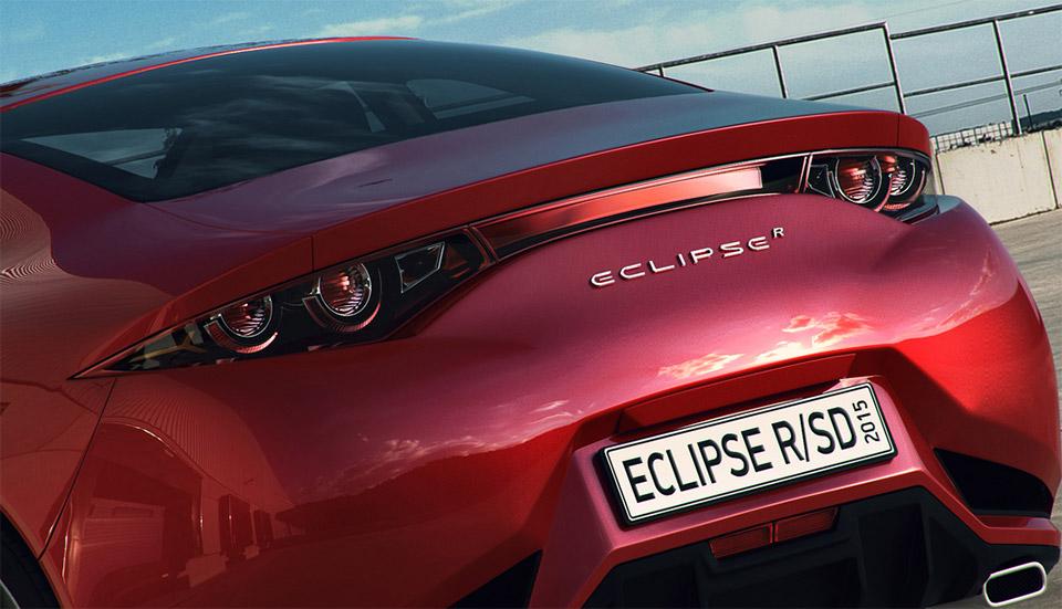 Mitsubishi Eclipse Concept 2015 Mitsubishi Eclipse r Concept 4