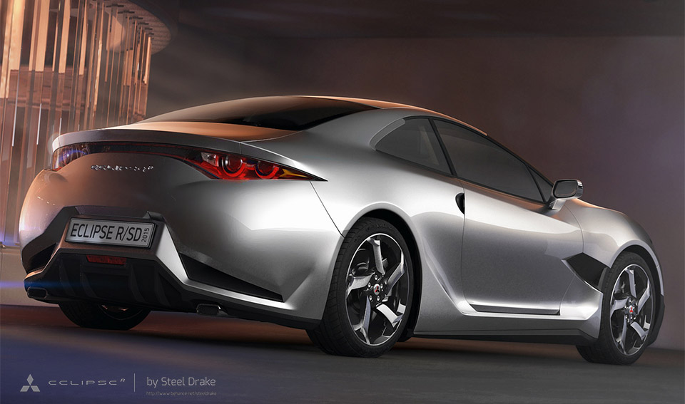 Mitsubishi Eclipse Concept 2015 Mitsubishi Eclipse r Concept 6