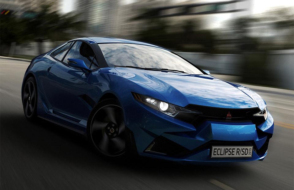 Mitsubishi Eclipse Concept 2015 Mitsubishi Eclipse r Concept 7