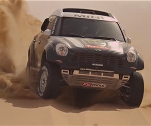 MINI Countryman Prepares for 2014 Dakar Rally