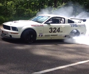 Mustang Burnout Compilation