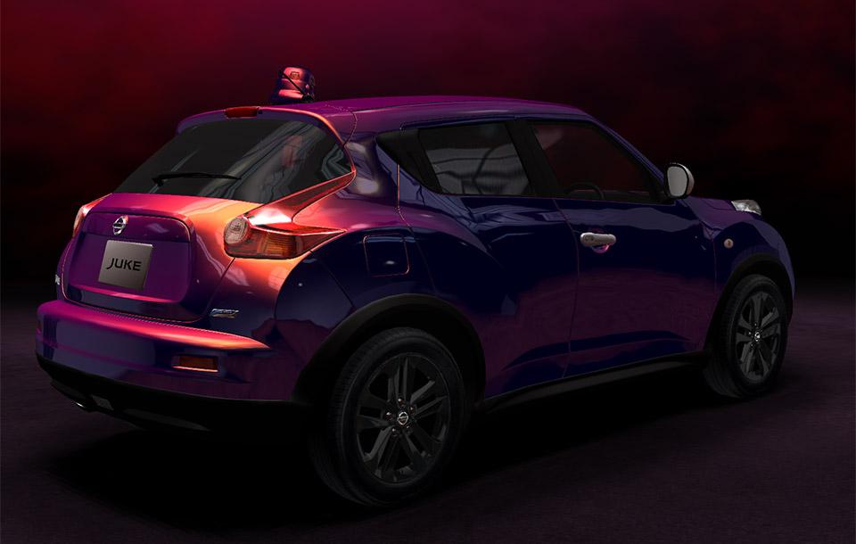 Nissan juke premium personalized edition 95 octane for Nissan juke violett