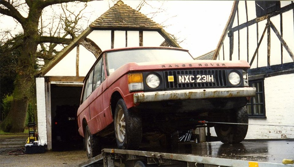First Production Range Rover to Get Full Restoration
