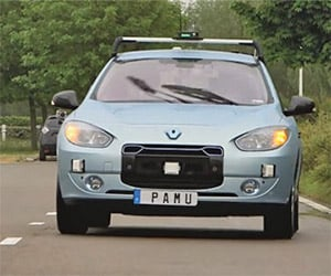 Renault Demonstrates Self-Driving Vehicles