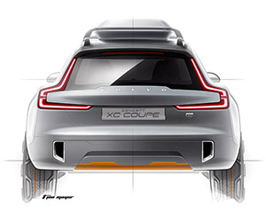 Volvo Concept XC Coupe Teased Before NAIAS