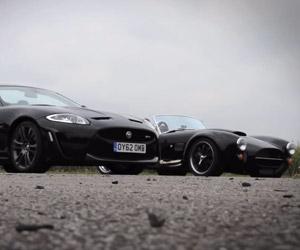 XCS Fusion Cobra vs. Jaguar XKR-S