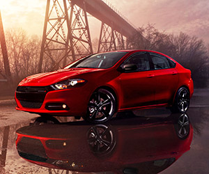 2014 Dodge Dart Blacktop Revealed Before Detroit