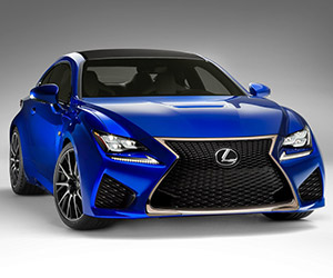Lexus Introduces the RC F Coupe