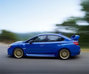 2015 Subaru WRX STI Leaked Before Detroit