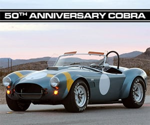 Shelby Announces 50th Anniversary Shelby Cobra