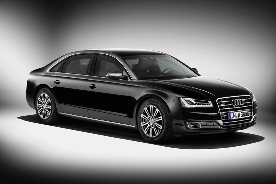 Audi's A8 L Security: Like a Safe Room on Wheels