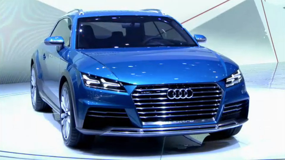 Audi Allroad Shooting Brake Concept Breaks Cover