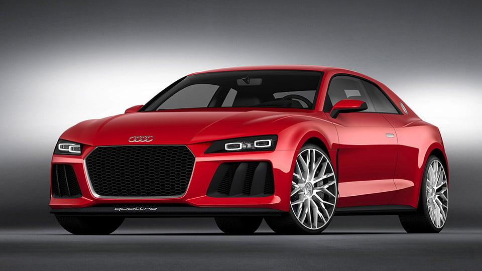 Audi Announces Sport Quattro with Laser Lights