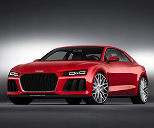 Audi Announces Sport Quattro with Laser Lights