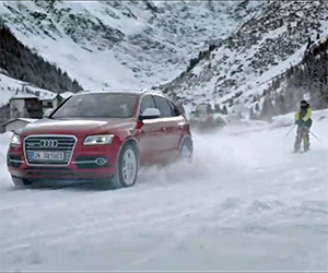 Audi SQ5 Quattro Goes Skiing in the Alps