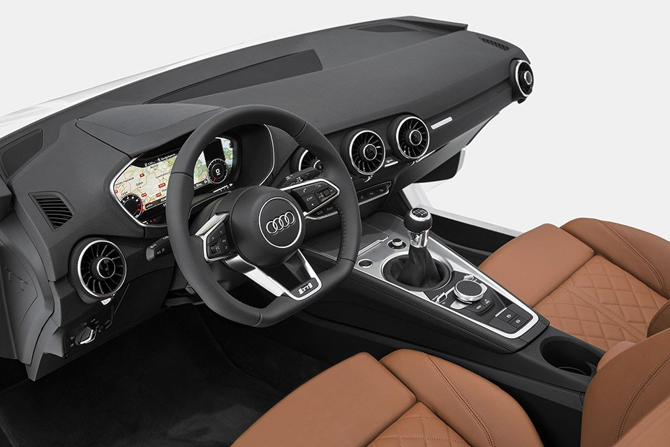 Audi Unveils New TT Interior at CES
