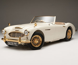 Rare 1958 Austin-Healey Goldie Turns up on eBay