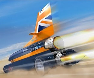 Inside the Bloodhound SSC: 1000mph or Bust!