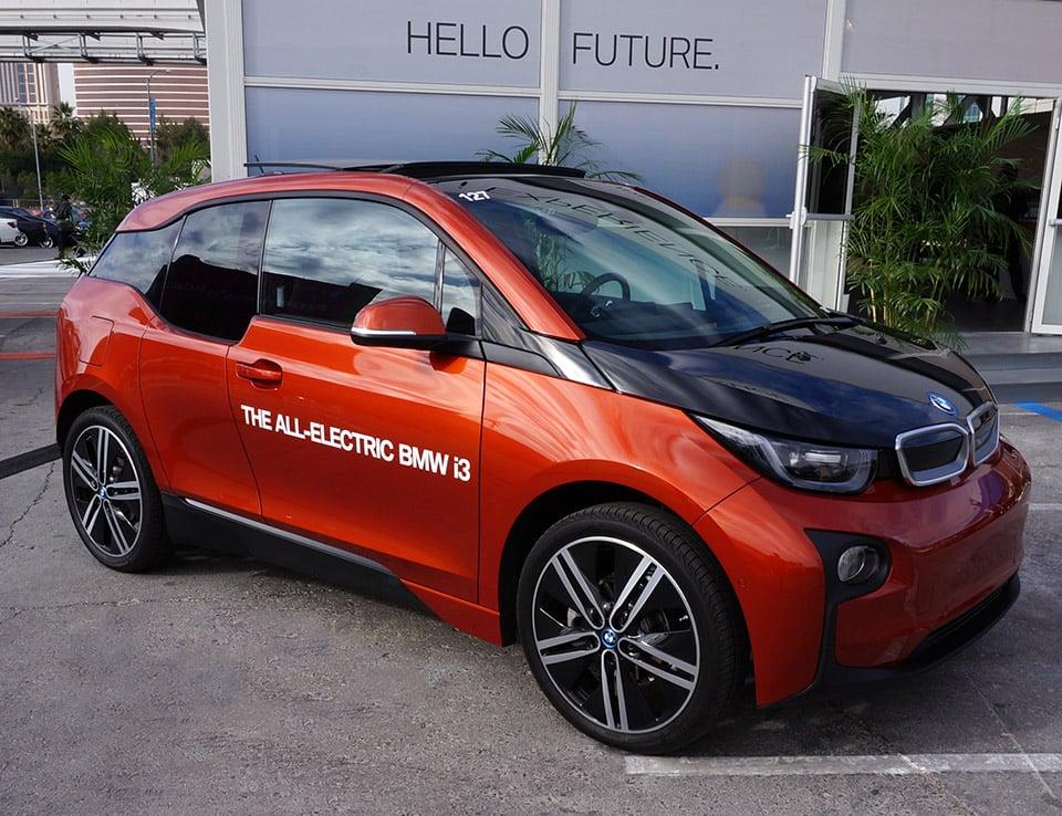 Test Drive: BMW i3 Electric