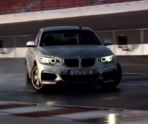 BMW Shows off Self-Drifting Car