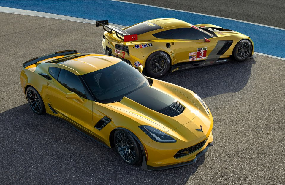 Corvette C7.R Race Car