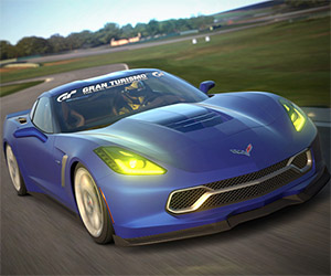 Drive the Corvette Stingray Gran Turismo in GT6