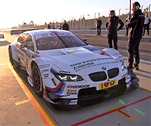 A Spin in the BMW M3 DTM