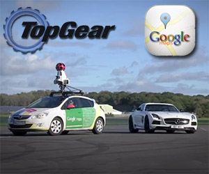 Google Maps the Top Gear Test Track, Slowly
