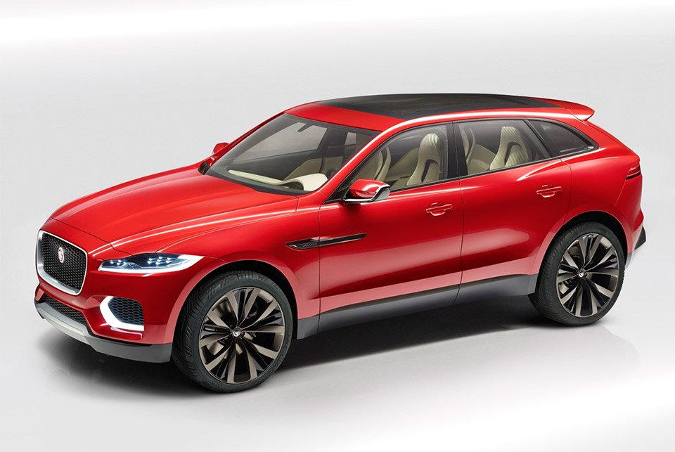 Jaguar C-X17 Concept Sees Red