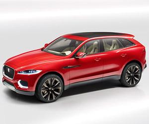 Jaguar C-X17 Concept Sees Red