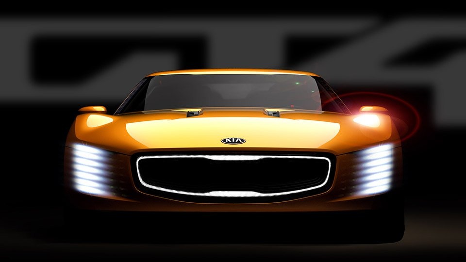 Kia GT4 Stinger Concept to Be Seen in Detroit
