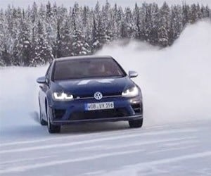 Learn How to Drift in a Volkswagen Golf R
