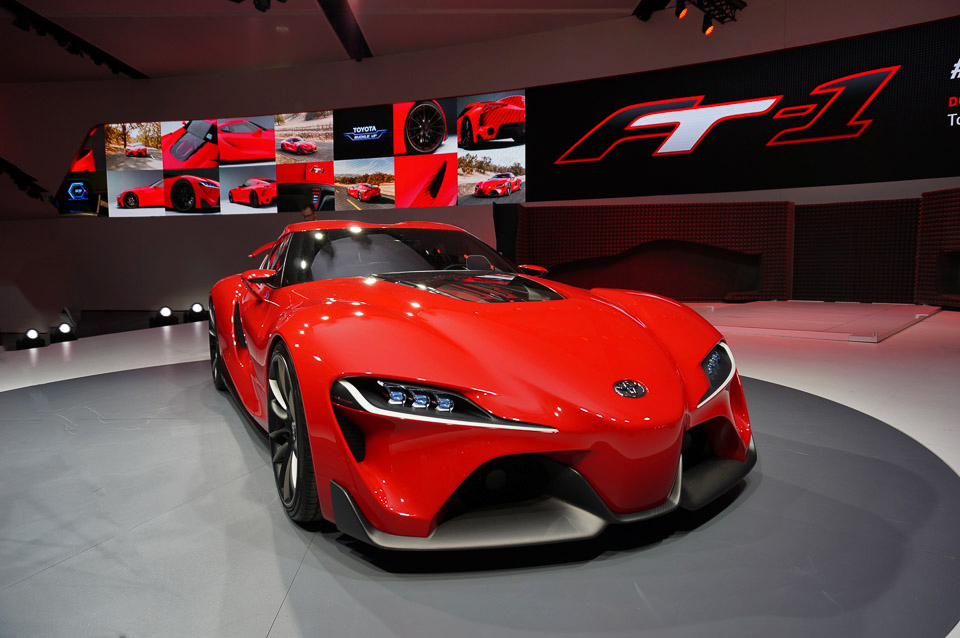 Toyota FT-1 Concept is Astounding