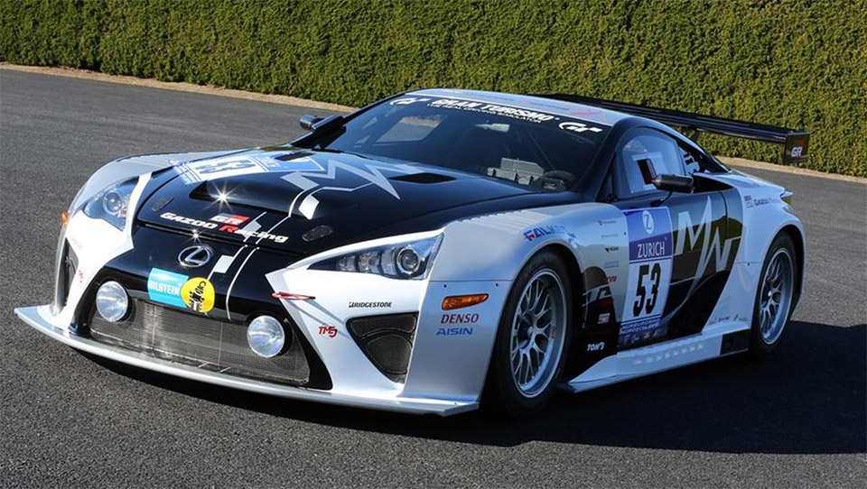 LFA Code X to Compete at 24 Hours of Nürburgring