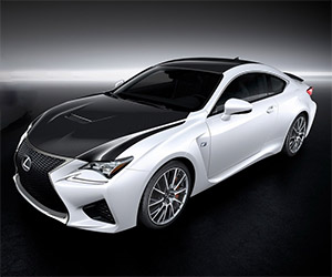 Lexus RC F Carbon Package Sneak Peek