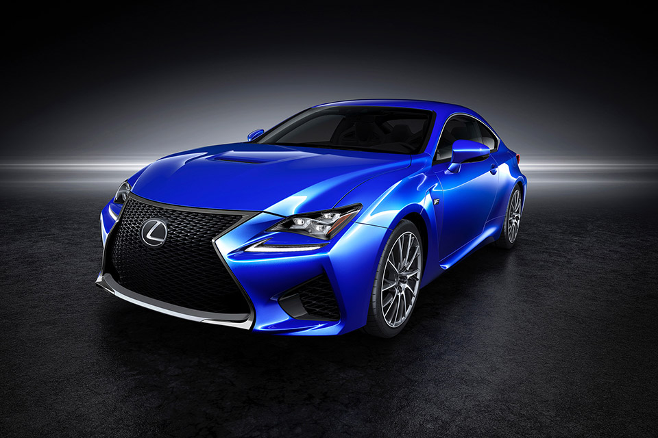 2015 Lexus RC F Coupe Sneak Peek