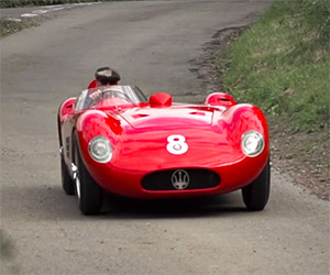 A Drive in the Country in a 1956 Maserati 150S