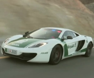 Dubai's Latest Police Car is a McLaren MP4-12C
