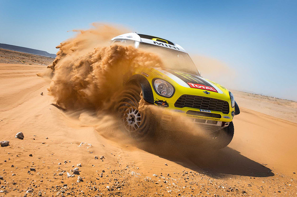MINI Wins Top Three Spots at 2014 Dakar Rally