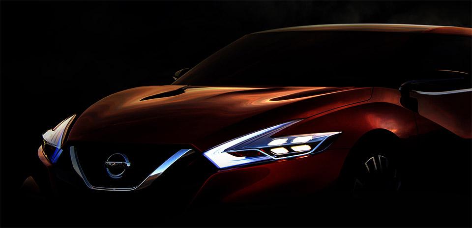 Nissan Teases New Sport Sedan Concept