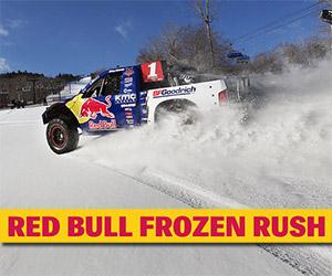 Red Bull Frozen Rush 2014: 900hp Snow Racing