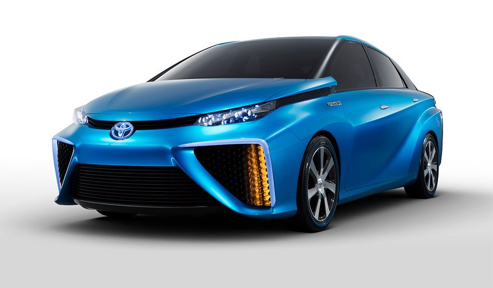 Toyota's Fuel Cell Powered FCV to Go on Sale in 2015