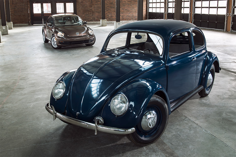 Volkswagen Celebrates 65 Years of the VW Beetle in the U.S.
