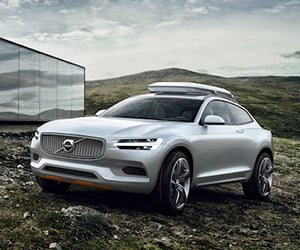 Volvo Concept XC Coupe Revealed Ahead of Detroit