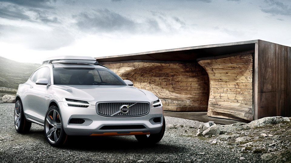 Volvo Concept XC Coupé Unveiled in Detroit