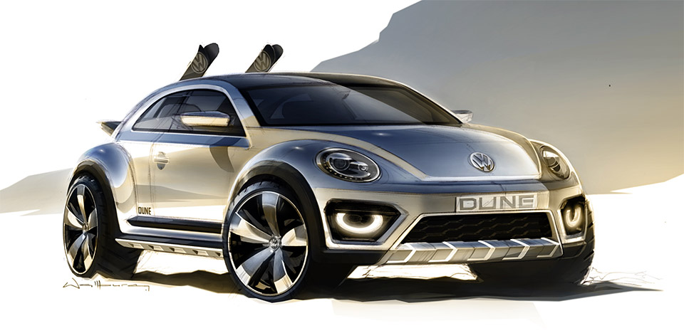 Vw Beetle Dune Concept L on 95 Acura Gsr