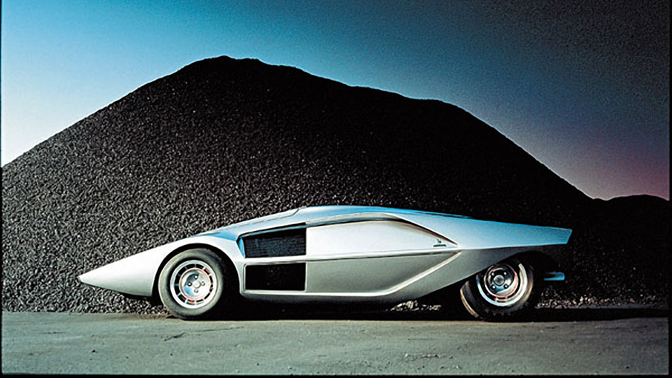 Concepts of Future Past: 1970 Lancia Stratos Zero