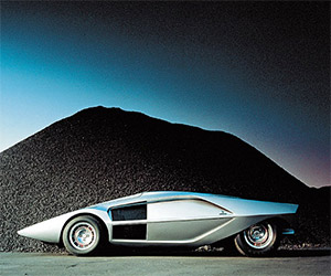 Concepts of Future Past: 1970 Lancia Stratos Zero